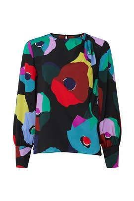 Floral Collage Blouse by kate spade new york