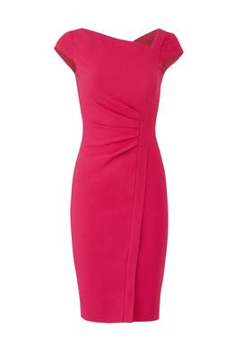 Tassa Raspberry Dress by L.K. Bennett