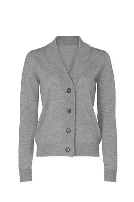 Light Grey Cardigan by Maison Margiela