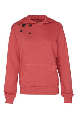 Heart Cluster Hoodie by MONROW