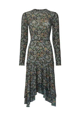 Multi Green Floral Dress by See by Chloe