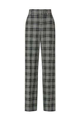 Sawyer Plaid Pants by Tanya Taylor