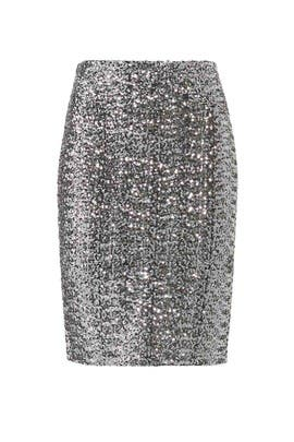 All Night Sequin Skirt by BB Dakota