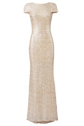 Champagne Award Winner Gown by Badgley Mischka