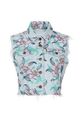 Floral Crop Vest by Levi's