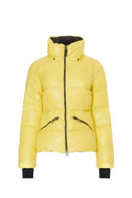 Yellow Madalyn Puffer Coat by Mackage