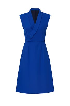 Cobalt Allen Dress by Of Mercer