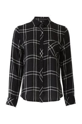 Speckled Black Hunter Flannel by Rails