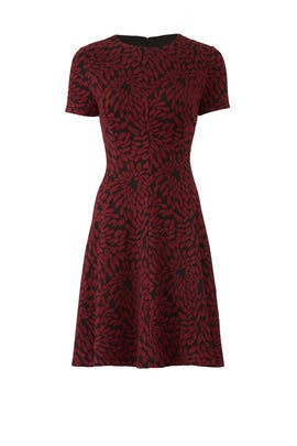 Merlot Floral Dress by Slate & Willow