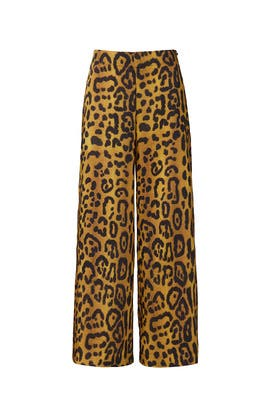 Leopard Printed Culottes by Adam Lippes Collective