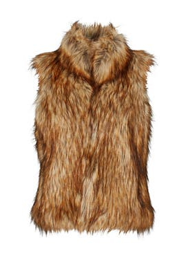 Belding Faux Fur Vest by BB Dakota