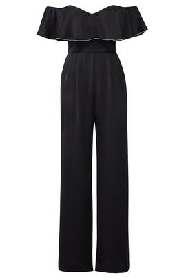 Modern Trim Jumpsuit by devlin