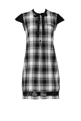 Wednesday Plaid Shift by INTER-PRET.US