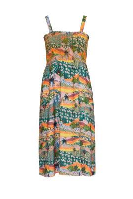 Landscape Midi Dress by JUNAROSE