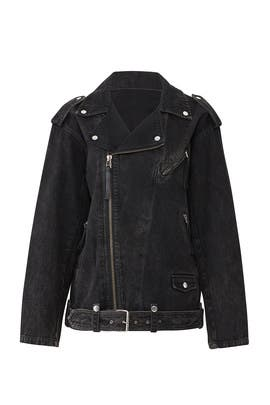 Embroidered Denim Jacket by The Kooples