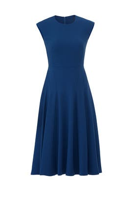 Blue Aylin Dress by L.K. Bennett