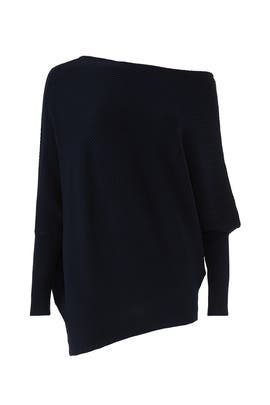 Navy Dash Sweater by Wish