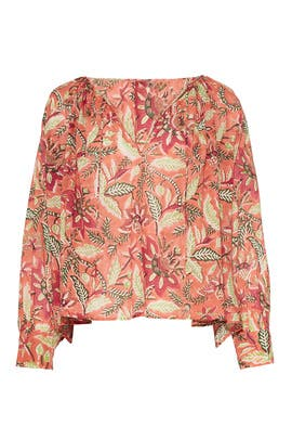 Floral Kalao Blouse by Antik Batik