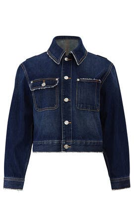 The Denim Sammy Jacket by Current/Elliott