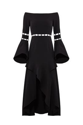Black Solar Dress by FINDERS KEEPERS