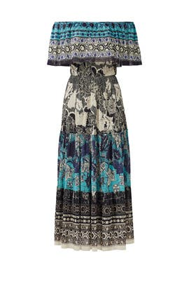 Batik Patchwork Dress by Fuzzi