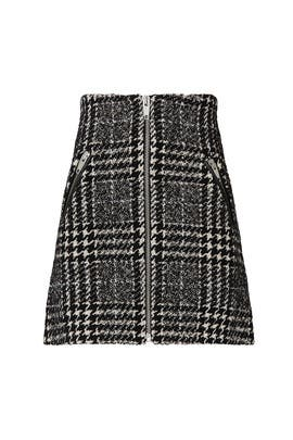 Tweed Jupe Skirt by The Kooples