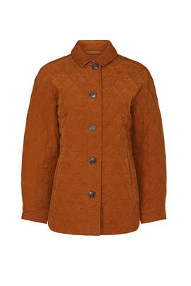 Austin Quilted Coat by Madewell