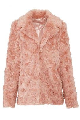 Faux Fur Park Ave Jacket by Show Me Your Mumu
