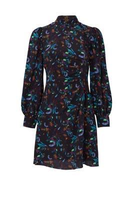 Black Clarisse Dress by Tanya Taylor