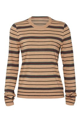 Striped Madeline Pullover by Tory Burch