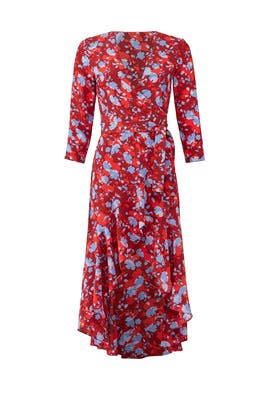 Lorna Wrap Dress by Alexis