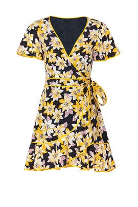 Floral Cameron Wrap Dress by Cinq à Sept