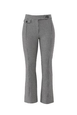 Gingham Flare Trousers by Derek Lam 10 Crosby