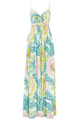 b773835d0ea Flora Stone Tie Front Maxi Dress by Mara Hoffman for  71