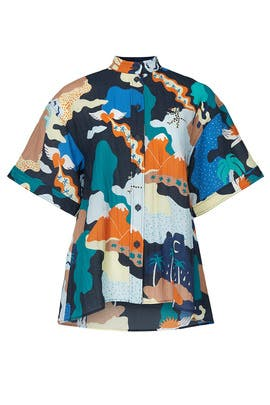 Landscape Briella Top by STINE GOYA