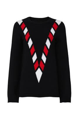 V Front Sweater by Victor Glemaud