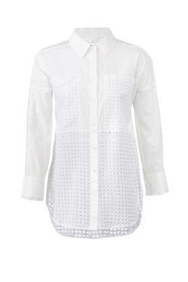 Eyelet Aida Shirt by Habitual