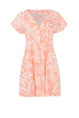 Assam Button Front Dress by MINKPINK