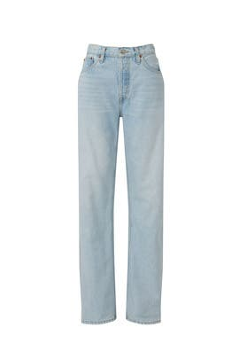 90s High Rise Loose Jeans by RE/DONE