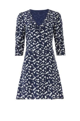 Navy Dylan Dress by Tanya Taylor