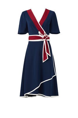 Peggy Wrap Dress by Tory Burch