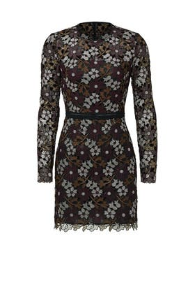 Lynden Bell Floral Dress by Cynthia Rowley