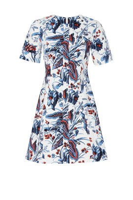 Floral Lena Dress by Diane von Furstenberg