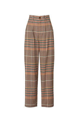 Plaid Suit Pants by Love, Whit by Whitney Port