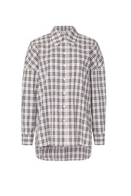 Kingston Plaid Shirt by Tibi