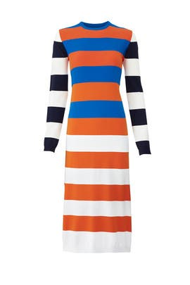 Broad Stripe Dress by Tory Sport