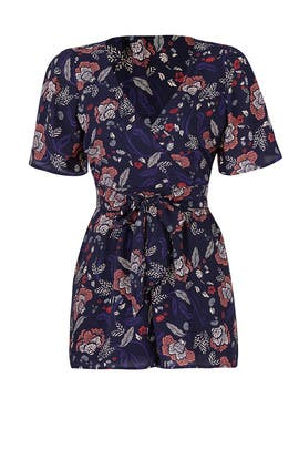 Floral Adelaide Romper by BB Dakota