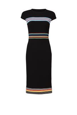 Black Hadlie Dress by Diane von Furstenberg