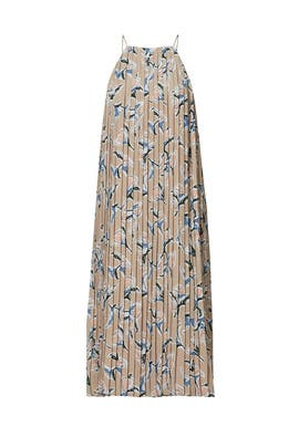 Floral Pleated Dress by J.O.A.
