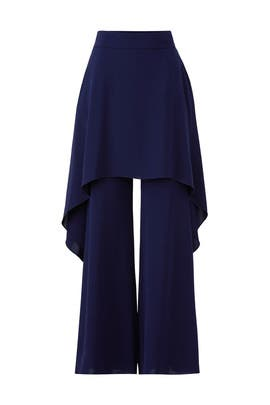 Blue Gulia Trousers by Osman